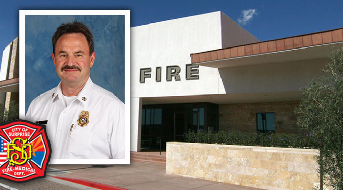 Welcome Fire/Medical Chief Tom Abbott!