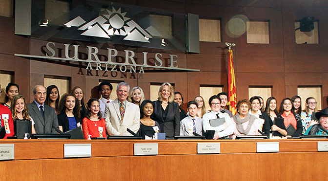 New Surprise Youth Council gets sworn in