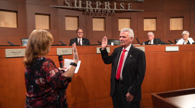 Skip Hall selected as City of Surprise Mayor