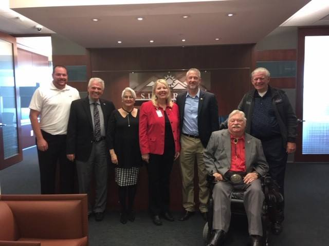 Surprise City Council pictured with Congresswoman Debbie Lesko