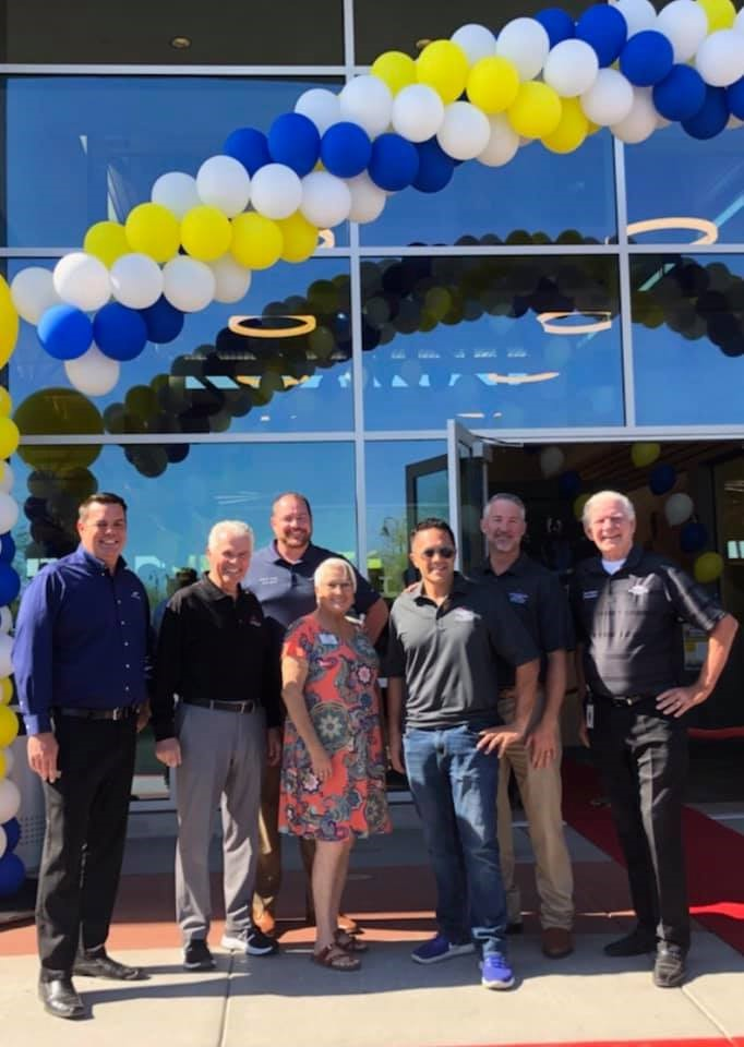 Surprise City Council attends the LA Fitness grand opening