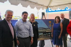 Mayor Skip Hall, Governor Doug Ducey, Senator Debbie Lesko, State Senator Rick Gray