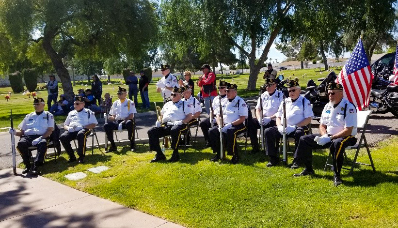 The Northwest Valley Veterans Association Members
