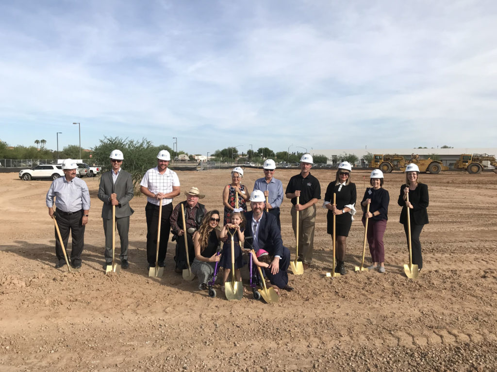 Surprise City Council breaks ground at the new Auviana Medical Development site.