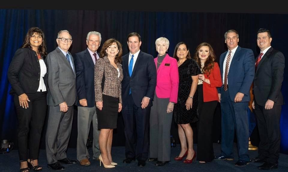 Arizona West Valley Mayors and Governor Doug Ducey.