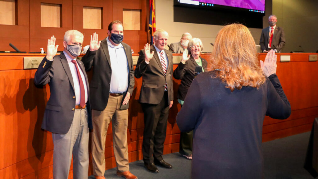 2021 Swearing in of Council